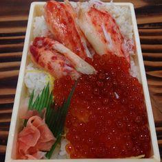 かにいくら寿司