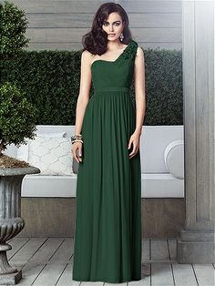 Low price elegant floor length long chiffon sweetheart dark green ...