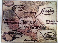 Las startups de México más sobre salientes en el extranjero. inTeam, Printoo entre ellas. Emprendedores en Tecnología