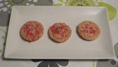 Galletas de fresa en el microondas (sin gluten)