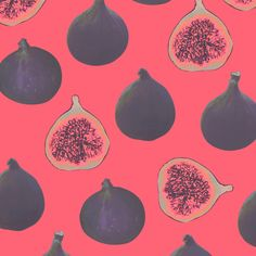 Fig pattern Art Print
