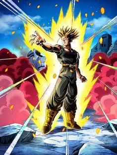LR Trunks HD Dragon Ball Z Dokkan Battle