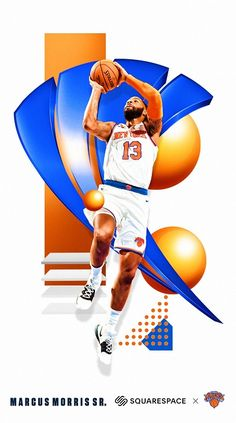 New York Knicks Logo, Nba New York, Basketball Leagues, Basketball Players, Carmelo Anthony Wallpaper, Marcus Morris, Nba Eastern Conference, Nba League, Nba Wallpapers