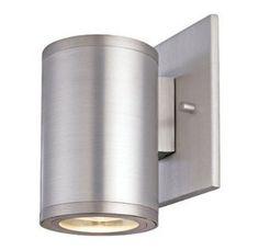 CSL Lighting SS1020B satin aluminum