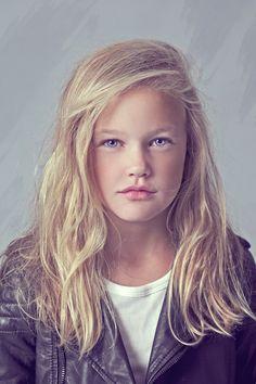 Finnish girl with purple eyes. By RAWR Magazine