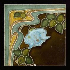 Tegel: Art Deco ander ornamentsdecor
