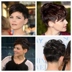 Ginnifer Goodwins spikey pixie haircut