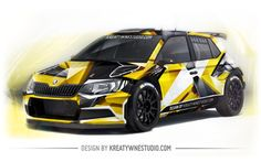 WRC Rally Car Design, racing project, wrapping