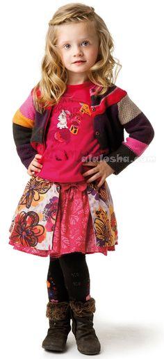 VOGUE ENFANTS Catimini FW'14 collection for adorable little girls