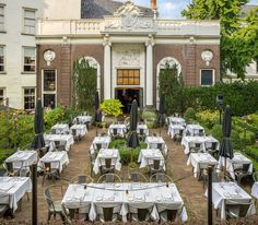 Amsterdam, Lion Noir, restaurant, dining, cafe, bar, outdoor, seating, capitol, Holland, interior design award winner
