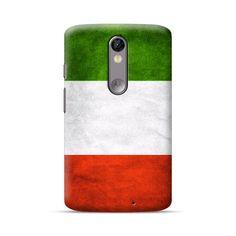Moto X Force Italy Flag Case