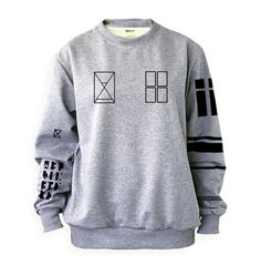 Tyler Joseph Twenty One Pilots Tattoos Sweatshirt Sweater Crew Neck Grey Shirt  #noonew #FashionSweatshirt