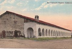 San Fernando Mission, California, 1915