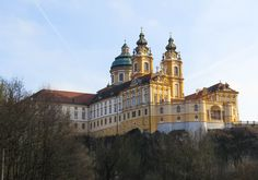 Melk Abbey, Austria; Read stories at www.whattravelwriterssay.com Wachau Valley, Travel Articles, Austria, Barcelona Cathedral, Mansions, House Styles, Building, Places, Manor Houses