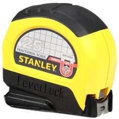 Stanley 25 ft. Lever Lock Tape Measure-STHT33281L - The Home Depot