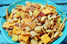 Spicy Snack Mix