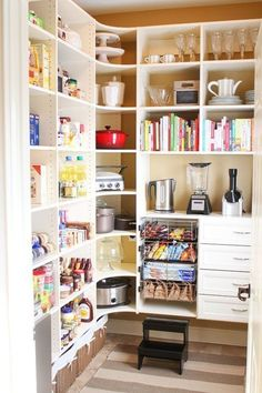 Organize pantry shelves book idea Source by