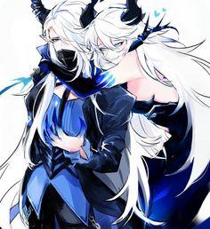 LuCiel DiA/DN (Lu - Altar of Evil)<--- --sarcastic voice-- Totally not a couple...