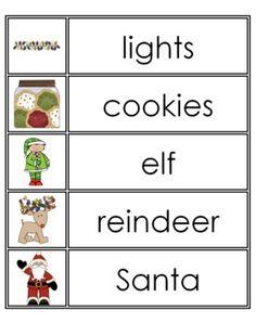 Winter Word Wall Words {FREE} - Pocketful of Centers - TeachersPayTeachers.com