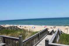 View from a 12 bedroom oceanfront vacation home in Nags Head. Who wouldn't love this? http://www.SunRealtyNC.com/house/403
