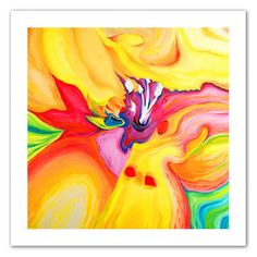 """""""Secret Life of Lily"""" by Susi Franco Painting Print on Canvas"""