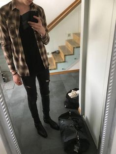 This weeks pickups: Saint Laurent Paris, Filippa K Flannel Outfits, Tomboy Outfits, Casual Outfits, 80s Fashion Men, Fashion Models, Fashion Blogs, Womens Fashion, Stylish Men, Men Casual