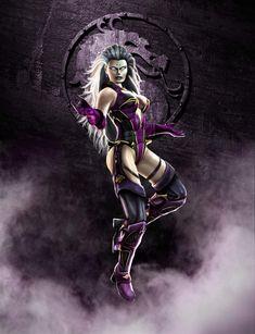 Sindel de Mortal Kombat