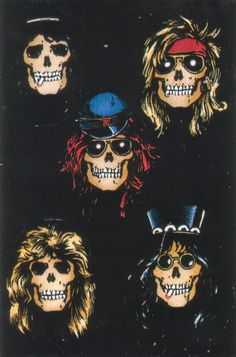 slash Guns N Roses axl rose appetite for destruction Robert Williams Guns N Roses, Guns And Roses Wallpaper, Rose Wallpaper, Rock Y Metal, Black Metal, Heavy Metal, Rock Posters, Concert Posters, Metallica
