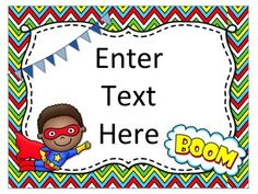 Perfect EDITABLE posters for just about anything you need in your classroom! Cutest Superhero theme with both boy and girl heroes! $2.50! Superhero Classroom, School Classroom, Classroom Decor, Classroom Rules, Super Hero Activities, Class Activities, Beginning Of School, New School Year, Notes To Parents