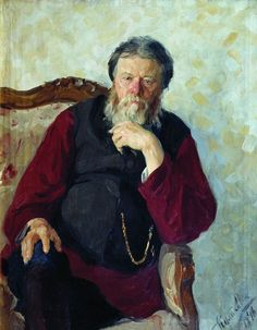 Куликов Иван Семенович (1875 - 1941) -  Портрет отца. 1898