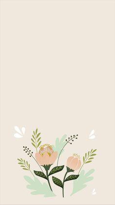 Simple Iphone Wallpaper, Flower Phone Wallpaper, Minimalist Wallpaper, Iphone Background Wallpaper, Cool Wallpaper, Pattern Wallpaper, Aesthetic Pastel Wallpaper, Aesthetic Wallpapers, Pretty Wallpapers