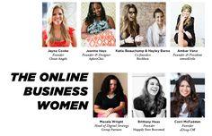 The Everygirl Yearbook // The Online Business Women // @Jayna Cooke @AphroChic @birchbox @Amber Venz // @Macala Wright @Happily Ever Borrowed @Corri McFadden