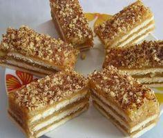 Sweet Recipes, Cake Recipes, Super Cook, Kolaci I Torte, Croatian Recipes, Icebox Cake, Baking Cupcakes, Desert Recipes, Creative Food