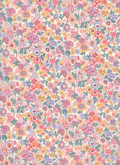 Liberty Fabrics - Floral Jazz C - The Strawberry Thief Iphone Background Wallpaper, Screen Wallpaper, Aztec Wallpaper, Iphone Backgrounds, Iphone Wallpapers, Cute Pattern, Pattern Design, The Strawberry Thief, Liberty Fabric