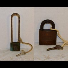 Old Locks and Keys available at Shellysselectsalvage.com