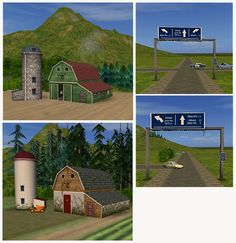 Barns, pine forests and more
