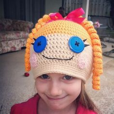Happiness is Homegrown: New Lalaloopsy Hats - no pattern