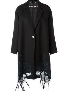 Rochas Пальто С Вышивкой - Maria Store - Farfetch.com