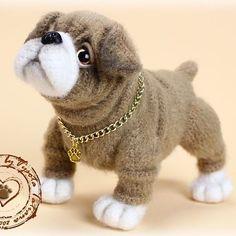 #handmade #cute #toys #вязание #вязанаяигрушка #интересное #ручнаяработа #рукоделие #игрушки #собачка #щенок #породаанглийскийбульдог #englishbulldog #puppy #dogs
