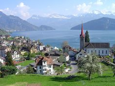 Weggis – Switzerland #lakelucerne