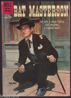 1960 Dell BAT MASTERSON #3 Comic Book WESTERN ADVENTURE