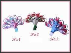 18 Girls Bug Hair Clip bows Snowman Lily Carrot Flower Basket Lollipop | eBay