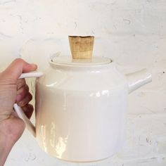 A personal favorite from my Etsy shop https://www.etsy.com/ca/listing/566271639/teapot-w-wood-knob-1-of-a-kind