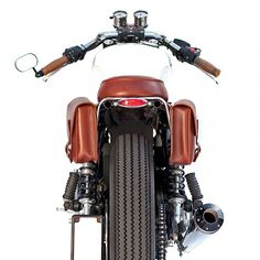 Not all customs are built in one go: This stylish Triumph Bonneville has been subtly upgraded over the years before Deus applied the finishing touch.