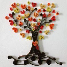 """""""Romantic Autumn Tree of life"""" by Rowaina from Facebook"""