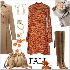 Orange and Beige! by faten-m-h on Polyvore featuring moda, Related, Miss Selfridge, Chloé and Diane Von Furstenberg