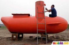 kapal selam mini yang mampu menempuh perjalanan selama 10 jam #MDK
