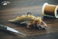 Bullhead Diver I use quite a lot of Sculpin patterns that use different zonker and muddler head combinations. This one is the latest addition to the line and it differs from the previous ones with having a reversed hook and dumbbell eyes. I usually...