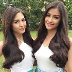 Liza Soberano and Janella Salvador Beauty Magic, Hair Beauty, Filipina Beauty, Liza Soberano, Cute Beauty, Woman Crush, Pretty Face, Pretty People, Girl Hairstyles