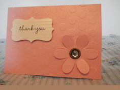 63 Best Handmade Thank You Cards Images Handmade Thank You Cards